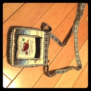 Other - A Ecuador small money/phone bag and satchel too.
